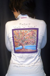 Art Canvas Shirt - Donna